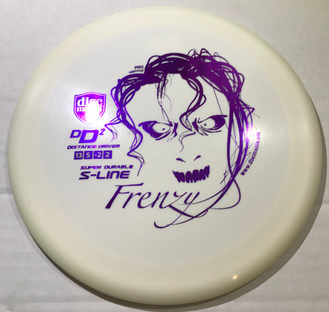 Discmania DD2 S-Line Distance Driver with Frenzy Stamp