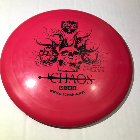 Discmania PD2 P-Line Chaos Stamped Driver