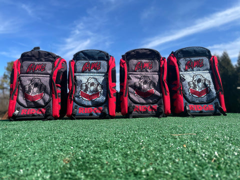 ***NEW*** Limited Edition V3 Ricky Raptor Ridge Disc Golf Backpack Bag with built in seat