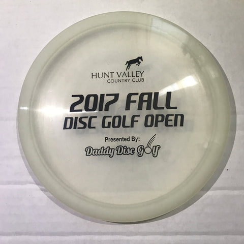 Dynamic Discs Justice Moonshine - Hunt Valley Country Club 2017 Fall Disc Golf Open Stamp