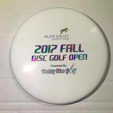 Westside Discs Harp BT Hard - Hunt Valley Country Club 2017 Fall Disc Golf Open Stamp