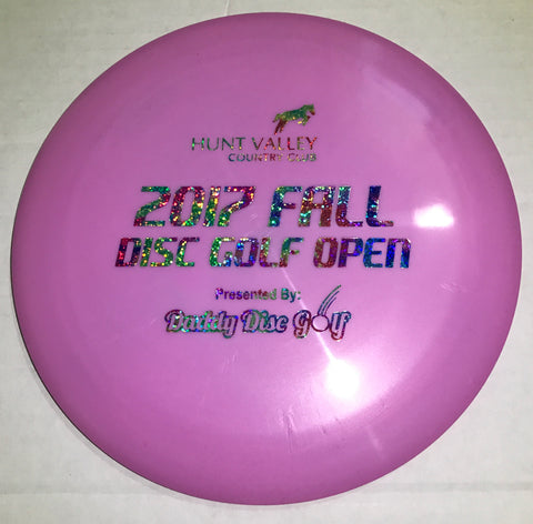 Latitude 64 Ballista Gold Line Distance Driver - HVCC 2017 Fall Disc Golf Open Stamp