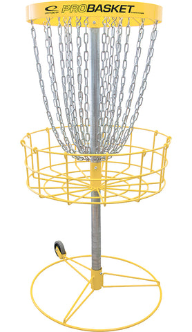 Latitude 64 Competition Basket Portable & Permanent Yellow