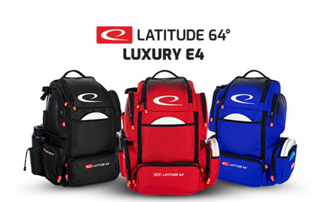 ***NEW*** Latitude 64 DG Luxury E4 Backpack Disc Golf Bag