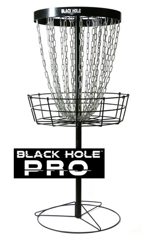 MVP Black Hole® Pro Disc Golf Basket