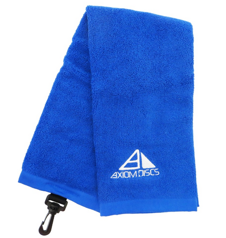 Blue Axiom Towel w/ white Pyramid Logo