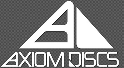 Axiom Discs White Vinyl Decal