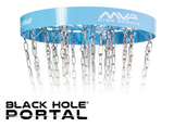 MVP Black Hole® Portal Permanent & Portable Course Disc Golf Basket