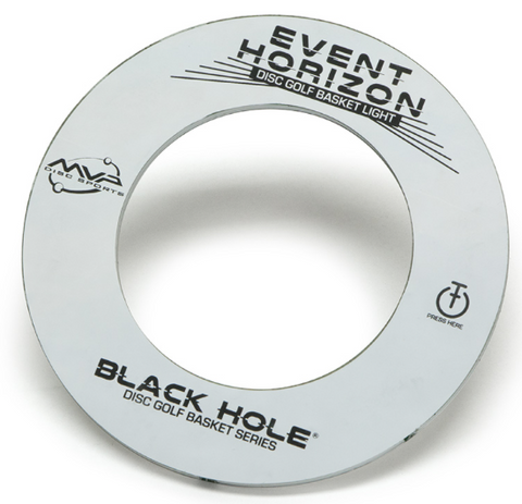 MVP Black Hole Event Horizon LED Basket Light