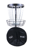 MVP Black Hole® Pro Disc Golf Basket with Transit Bag