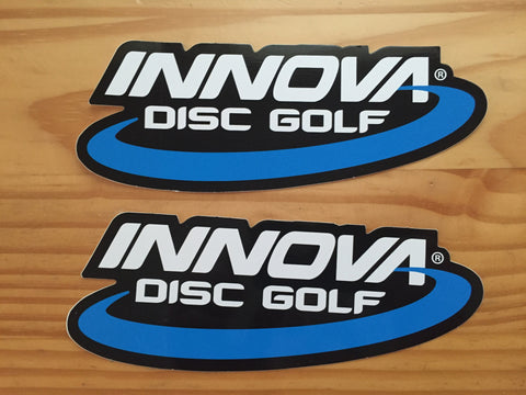 Innova Oval Die-Cut Sticker