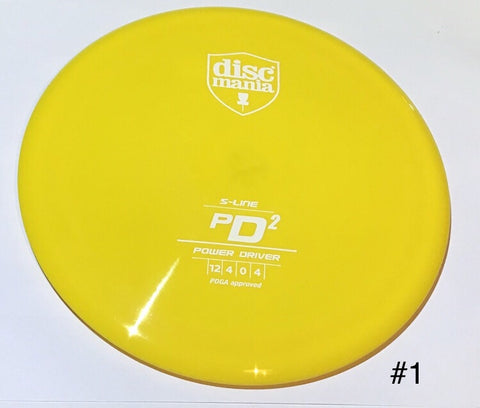 Discmania PD2 S-Line Power Driver
