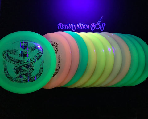 Discmania FD Color Glow C-Line with Night Strike II - Nate Perkins Signature Series Stamp