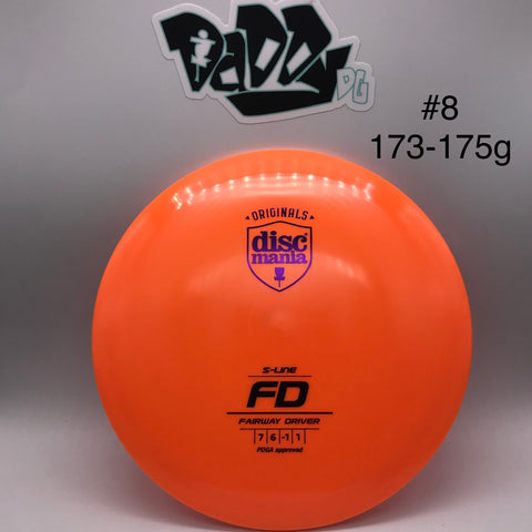 ***NEWLY RESTOCKED*** Discmania FD S-Line Fairway Driver