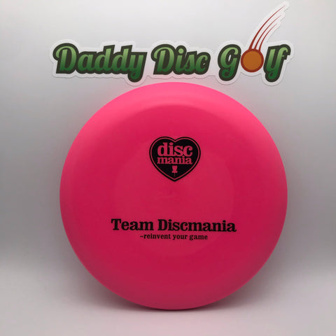 **NEW** Discmania P2 Stiff - P-Line Team Support Stamp Putt & Approach