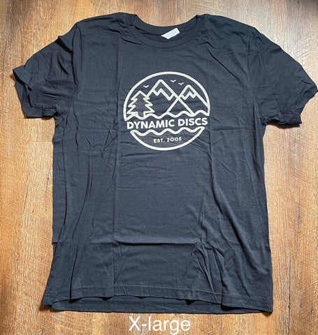 **NEW** Dynamic Discs Mountains Tri-Blend T-shirt