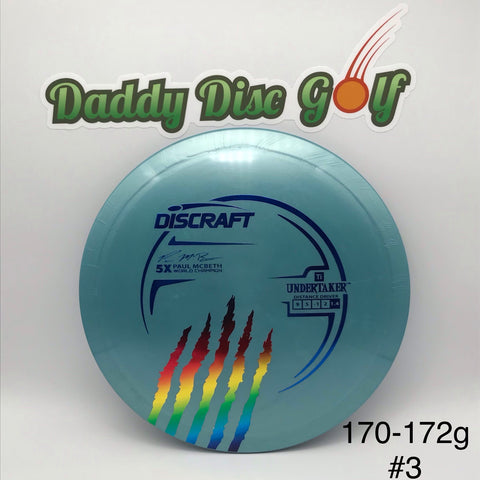 **NEW** Discraft Undertaker Ti Paul McBeth 5X Stamp
