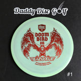 Discmania FD3 Swirly S-Line Fairway Driver with Doom Bird 3 Simon Lizotte Signature Series Stamp