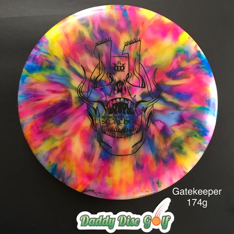 Westside Discs VIP Gatekeeper Midrange w/ 2019 Scarboro Scorcher Stamp and Custom Jeff Ash Dye