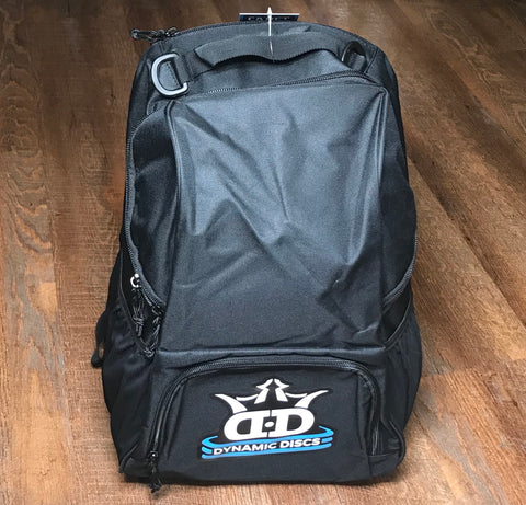Black Dynamic Discs Cadet Backpack Disc Golf Bag