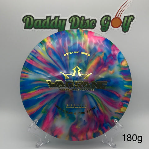 Dynamic Discs Warrant Lucid Midrange with Custom Jeff Ash Dye