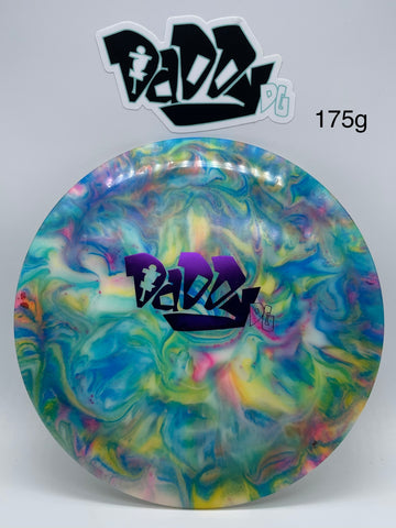 **NEW** Innova Shryke Champion Color Glow Daddy DG Stamped Distance Driver with custom Jeff Ash Dye