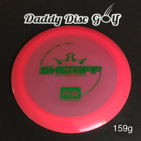Dynamic Discs Sheriff Lucid Air Distance Driver