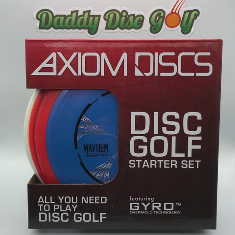 Axiom Discs - Disc Golf Starter Set