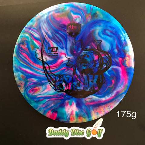 Discmania PD S-Line Freak Stamp and Custom Jeff Ash Dye