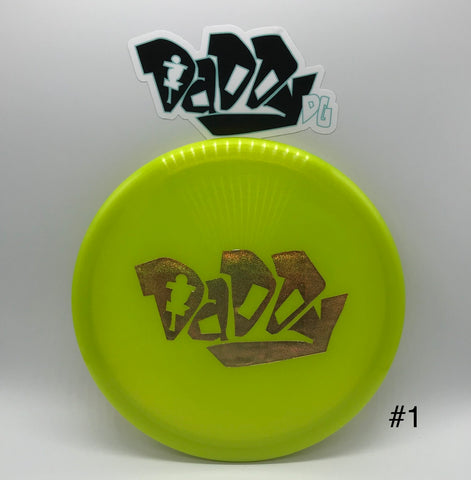 ***NEW*** Discraft Z-line Zone Daddy DG Custom Stamped Putt & Approach