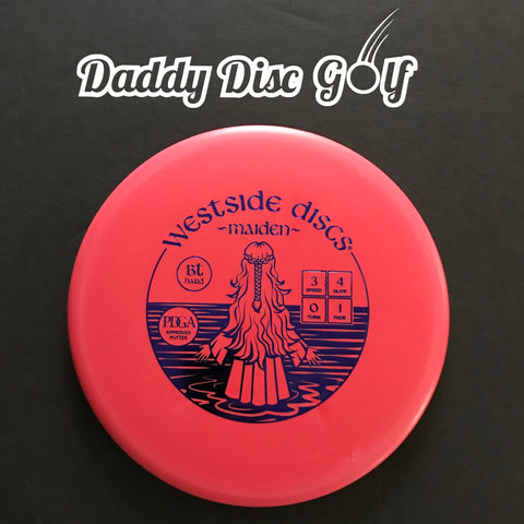 Westside Discs Maiden BT HARD Putter