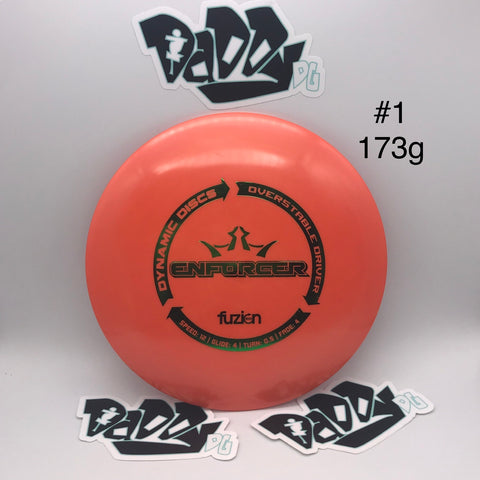 Dynamic Discs Enforcer BioFuzion Distance Driver