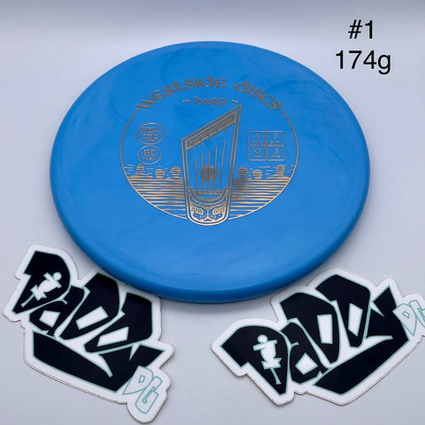 Westside Discs Harp BT Hard Putt & Approach
