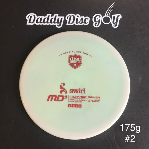 Discmania Not-So-Swirly S-Line MD5 Midrange Driver