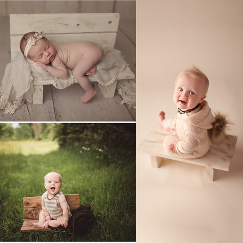 The itty bitty bench | sitter & newborn prop