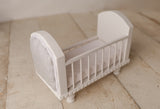 { Redesigned } The Itty Bitty Upholstered Crib