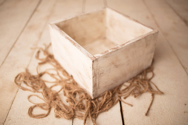 Crate | Square Distressed Crate