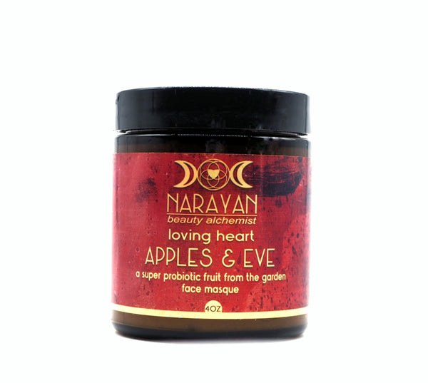 Apples & Eve  a super probiotic face masque