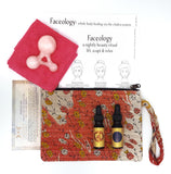 NARAYAN+OLOGY~ Rose Quartz Facial Tool & Maps