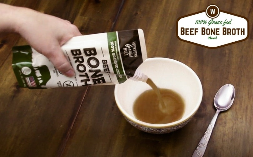 It's Here! 100% Grass Fed Beef Bone Broth in a Pouch [New Product]