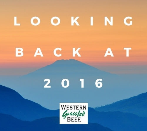Western Grassfed Beef Looks Back on 2016!