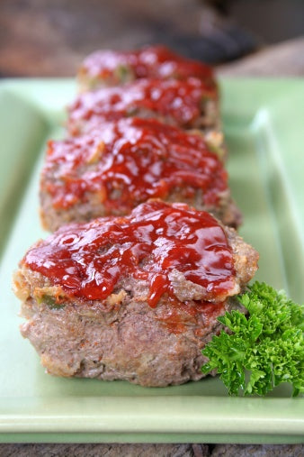 Grass Fed Ground Beef Mini Meaty Meatloaf [Recipe]