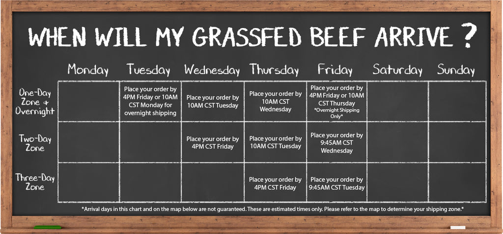 Shipping Grassfed Beef