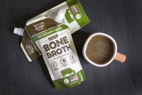 100% Grass Fed Beef Bone Broth (2 or 6 pack)
