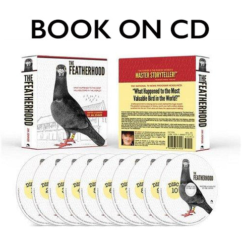 THE FEATHERHOOD AUDIO BOOK, narrated by author Jim Jenner - racing pigeon care keeping films