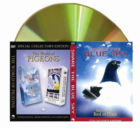 PIGEON DOCUMENTARY COMBO:  Share the Blue Sky, Marathon in the Sky and Oldest Feather Friend - racing pigeon care keeping films
