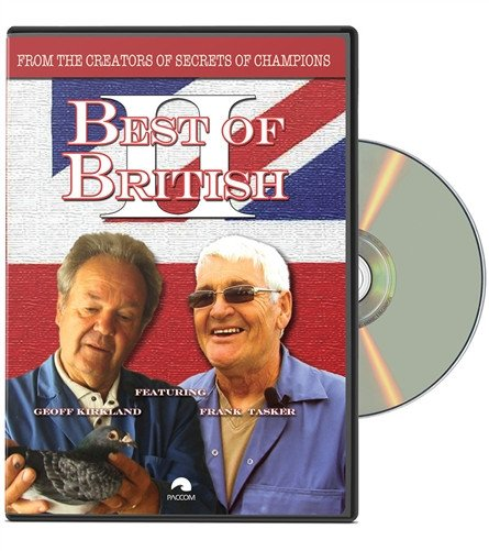 Best Of British II Racing Pigeon DVD - racing pigeon care keeping films