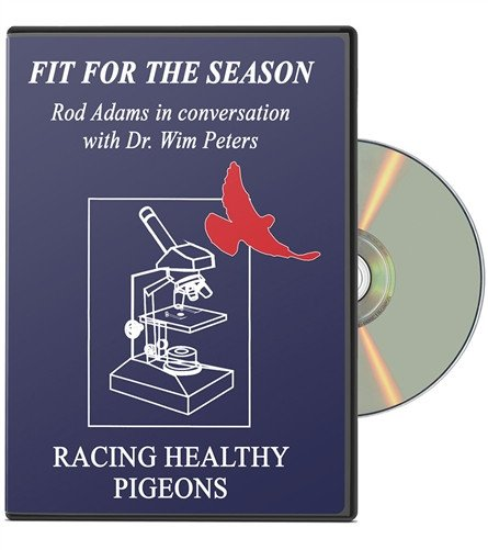 Fit For The Season Racing Pigeon DVD - racing pigeon care keeping films