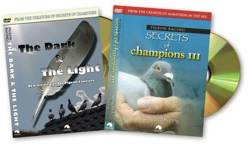 YOUNG BIRD PIGEON RACING COMBO: Secrets of Champions III and The Dark & The Light - PACCOM FILMS
