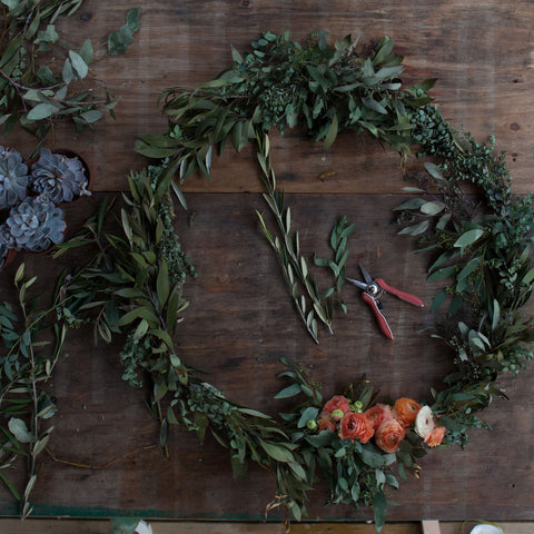 April 30: KKDW Floral Ring Wreath Workshop